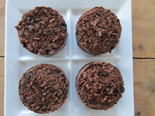 cheesecake au chocolat vegan