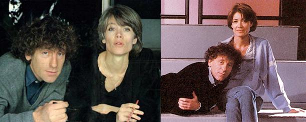 Françoise Hardy et Alain Souchon