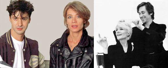 Etienne Daho, Thomas Dutronc et Françoise Hardy