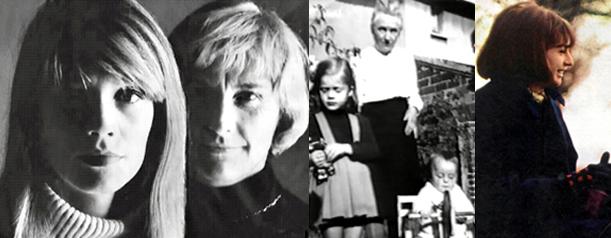 Françoise Hardy - Madeleine Hardy - Grand-Mère Hardy - Michèle Hardy