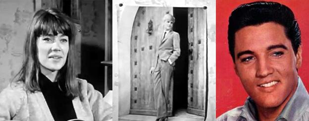 Françoise Hardy - Peter Van Eyck - Elvis Presley