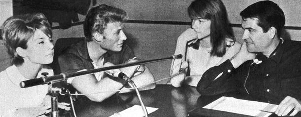 SLC salut les copains ! Une émission de Daniel Filipacchi avec aujourd'hui Françoise, Sylvie et Johnny.
