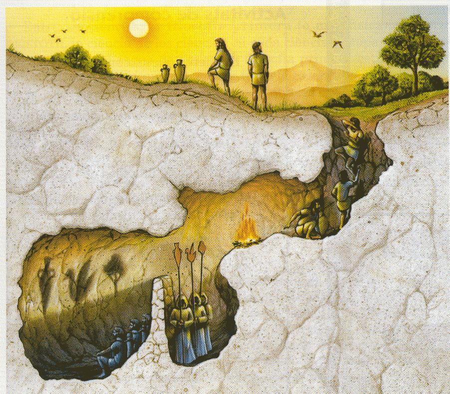 Blog de luciolemystique : Le bric à brac de Zébuline, La Caverne - Socrate