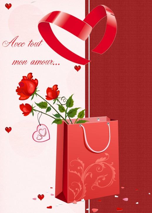 carte gratuite st valentin