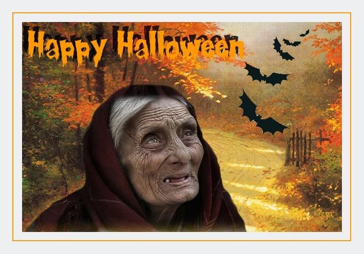 Carte halloween à imprimer