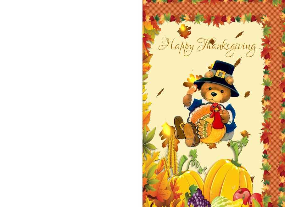 printable card thanksgiving