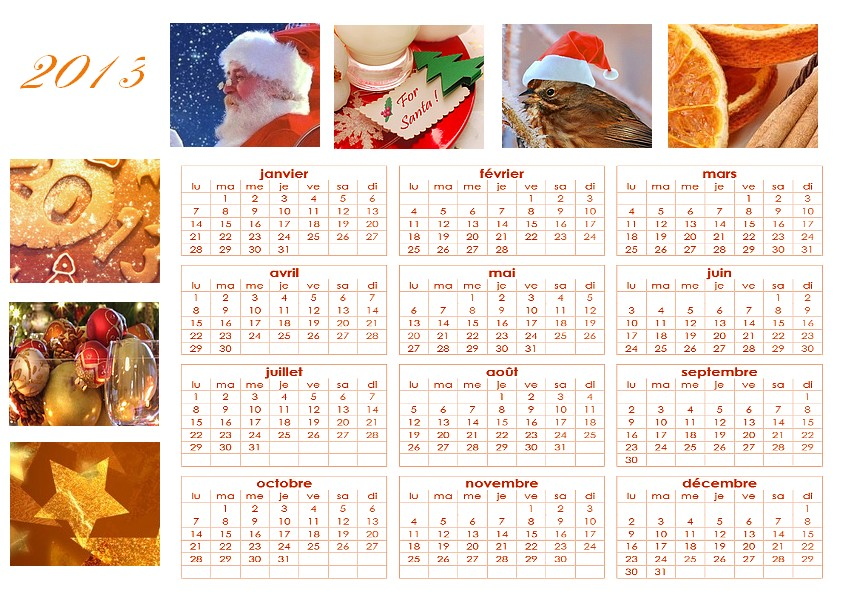 calendrier annuel gratuit