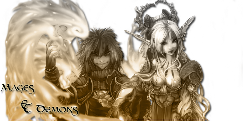 Mages et démons : L'aventure débute