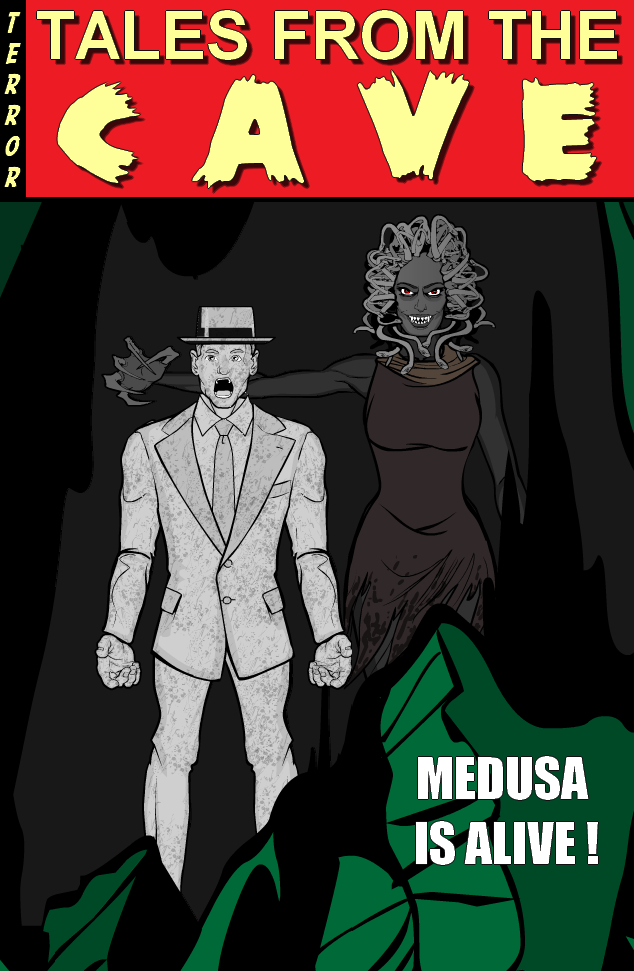 Tim Carter AKA Lycan Tales_from_the_cave_Medusa_is_alive
