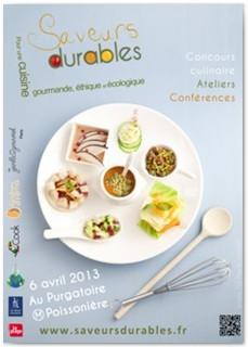 saveurs durables 2013