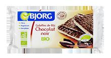 Galettes de Riz Chocolat vegan vegetalien sans huile de palme