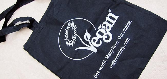 sac noir vegan society