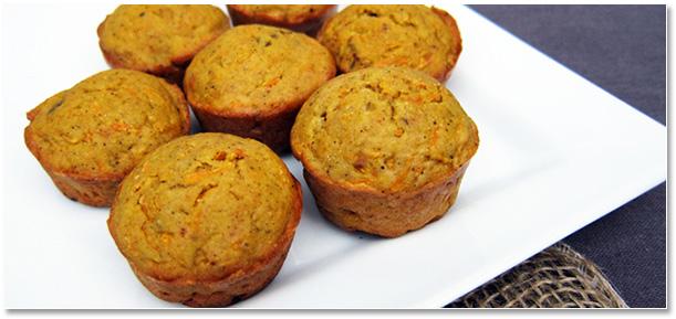 muffins carotte noisette cumin recette vegan vegetalien