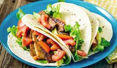 Tacos moelleux avocats et BLT