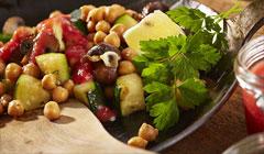 Poêlée de légumes du jardin à l'italienne