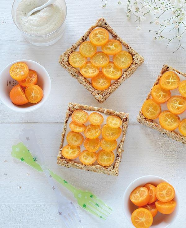 tartelette de kumquats
