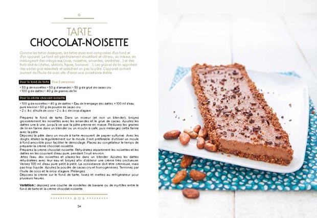 livre Chocolat Cru