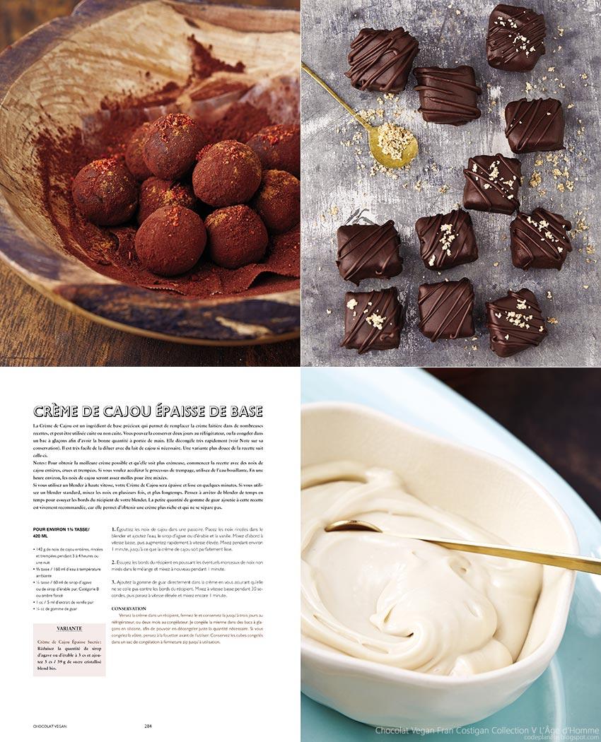 Chocolat Vegan de Fran Costigan