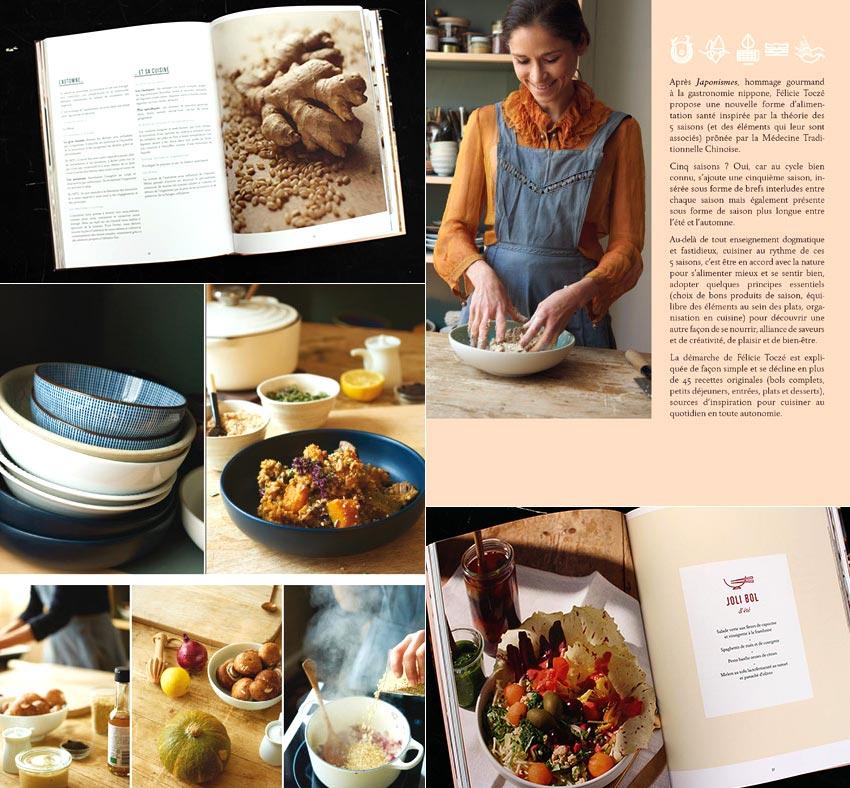 La cuisine santé des 5 saisons | Félicie Toczé se nourrir selon le cycle des 5 éléments