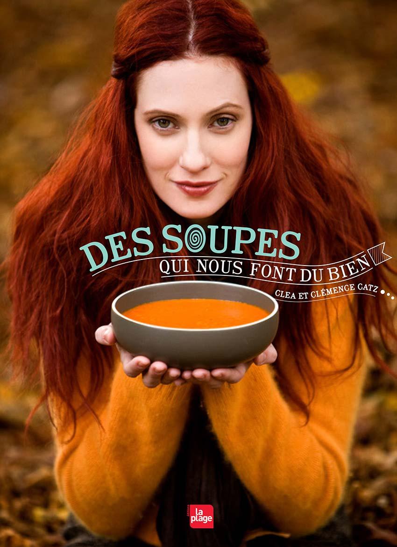 Des soupes qui nous font du bien Clea et Clémence Catz couverture