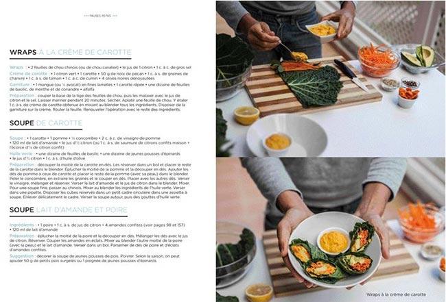 Le Grand livre de la Cuisine Crue de Christophe Berg wraps