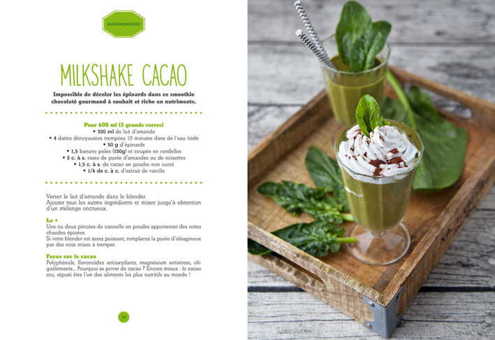 Green Smoothies & Boissons détox de Marie Grave