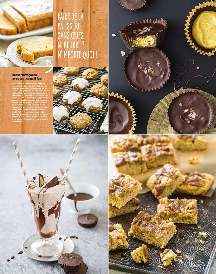 desserts vegan beurre de cacahuète