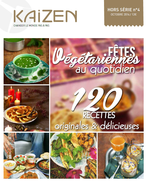 Kaizen : Fêtes végétariennes au quotidien