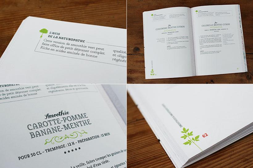 Livre Recettes Detox Green Smoothies Recettes Vegan