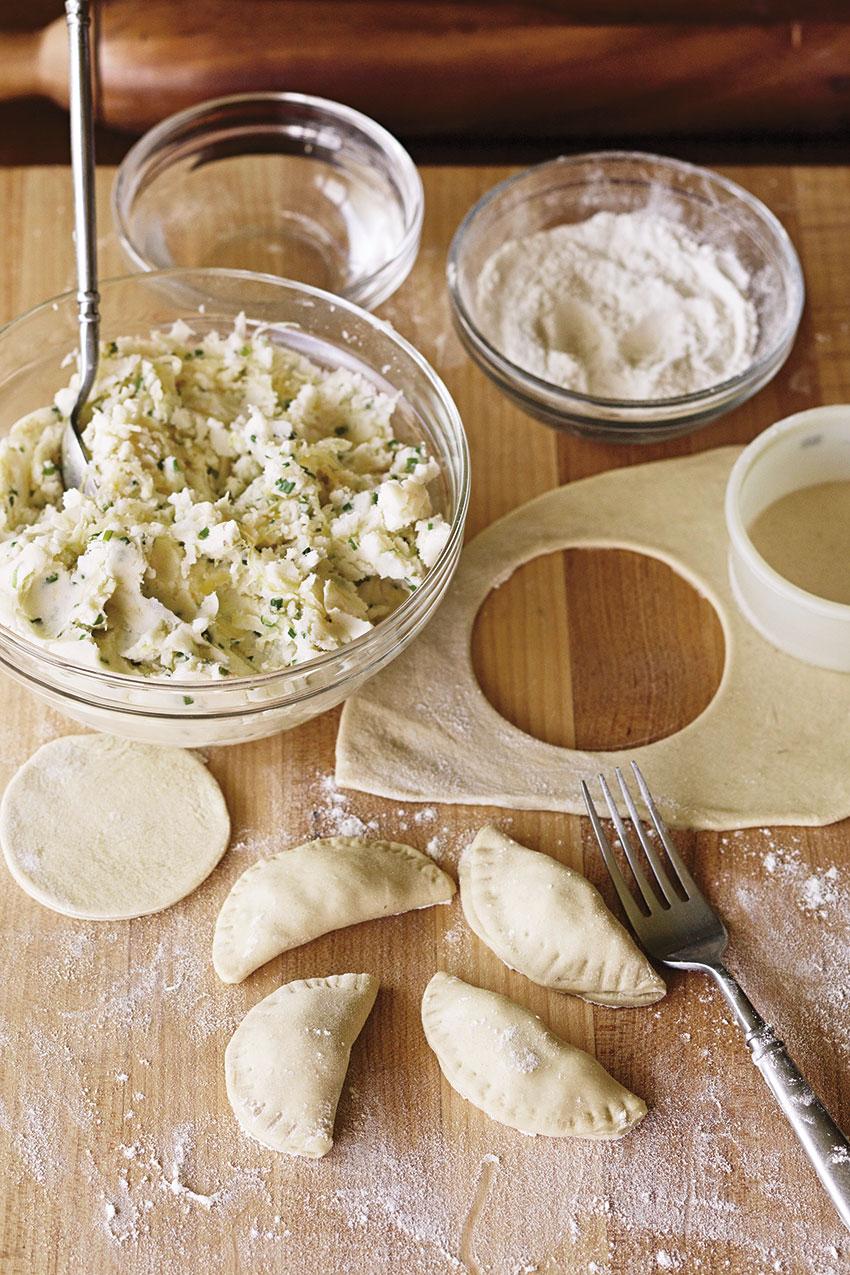 Cuisine végane pour Carnivores : pirogi polonais