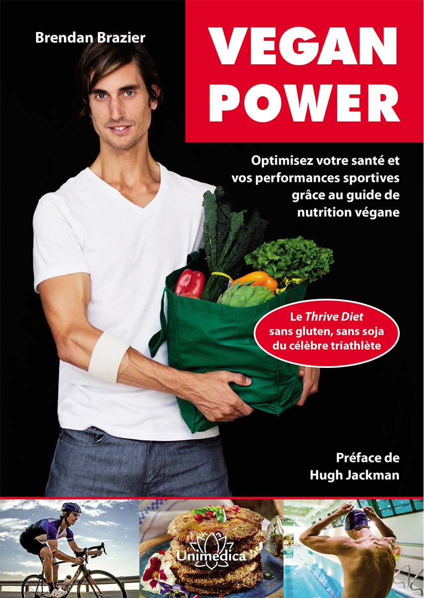 Couverture du livre Vegan Power  Brendan Brazier