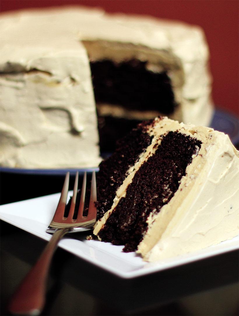 Le gâteau fou au chocolat