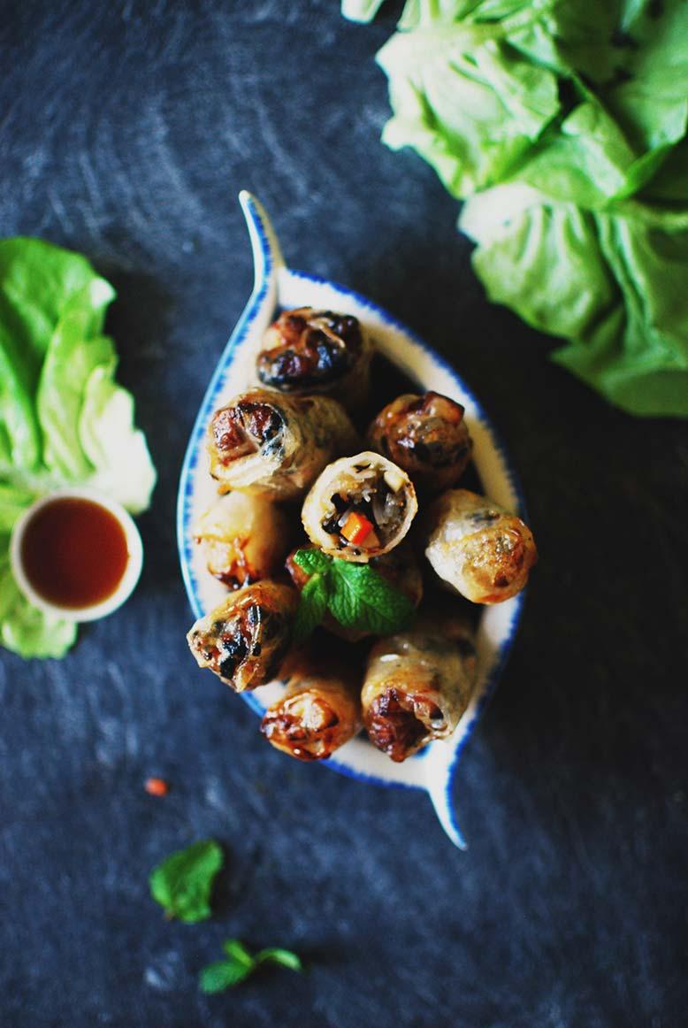Viêt Nam, la recette : Nems aux légumes