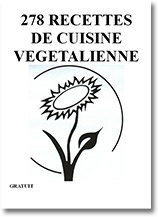 278 recettes végétaliennes