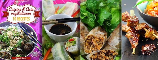 Cuisine d'Asie végétalienne - 10 recettes