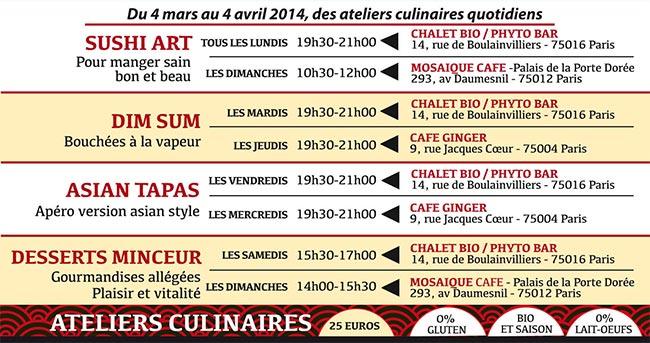 Festival Asie végétarienne à Paris 2014