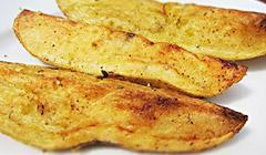 Pomme frites grillées au Barbecue