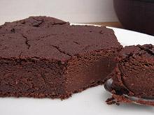gateau chocolat sans gluten vegan vegetalien