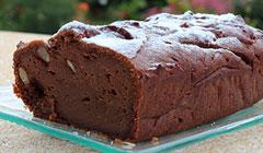 Le cake végétal choco-amandes d'Odile