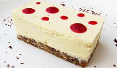 Cheesecake au chocolat blanc sans cuisson