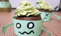 Zombies muffins [Halloween]