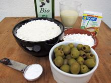 Cake aux olives vegan