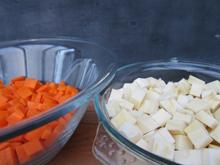 purée de panais carottes vegan vegetalien