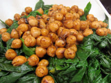 épinards frais préparation recette vegan vegetalien
