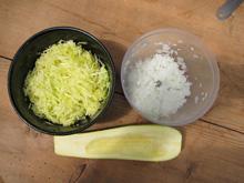 Galettes de courgettes vegan vegetalien