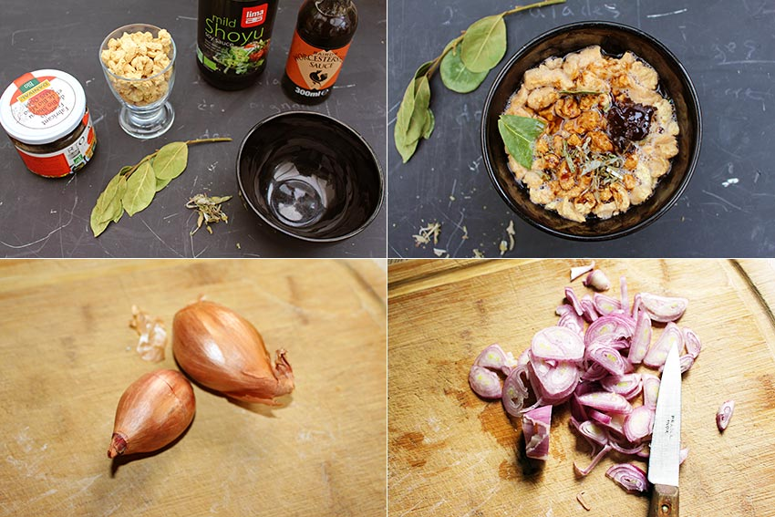 Cuisiner Protéines de soja texturées #1