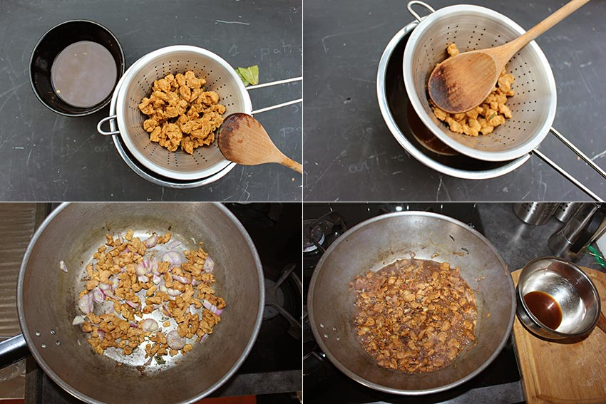 Cuisiner Protéines de soja texturées