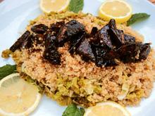 quinoa chou vert tofu sauce poivre citron