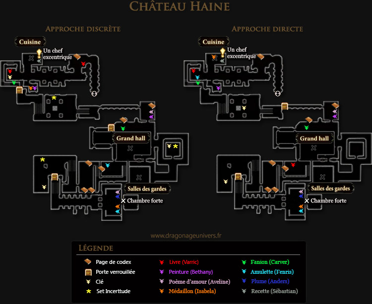 carte chateau haine approches dragon age 2 mota