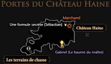carte extérieur chateau haine